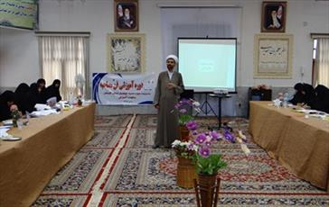 کارگاه آموزش «فن مصاحبه» در حوزه خواهران گلستان