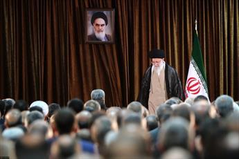 تصاویر/ دیدار وزیر امور خارجه، سفیران و مسئولان نمایندگیهای ایران در خارج از کشور با رهبر انقلاب