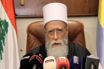 رهبر معنوی دروزی های لبنان خواستار مبارزه با توطئه های صهیونیستی شد