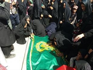 امام رئوف آرزوی شهید «مدافع وطن» را برآورده کرد