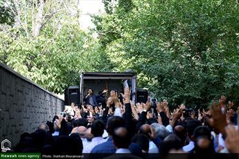 تصاویر/ تشییع پیکر آیت الله حاج آقا مرتضی تهرانی