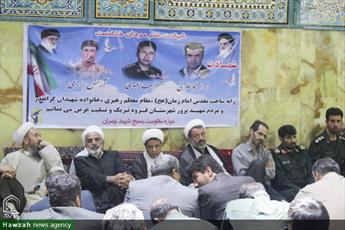 تصاویر/ مراسم گرامیداشت شهدای عملیات تروریستی مریوان در قروه