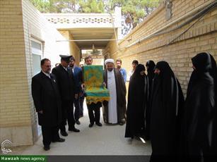 تصاویر/ حضور خدام حرم رضوی در حوزه علمیه خواهران یزد
