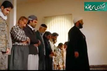 فیلم/ فعالیتهای تبلیغی و جهادی یک طلبه در روستاهای بیجار