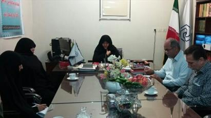 مراسم تودیع و تکریم رئیس اداره پشتیبانی حوزه خواهران استان گلستان برگزار شد