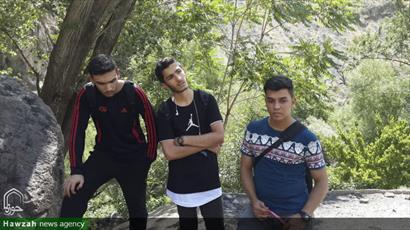 تصاویر/ اردوی تفریحی دانش آموزان ممتاز مدارس تهران به همت مبلغان