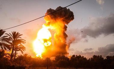 شهادت ۲ جوان فلسطینی در حملات هوایی جنگنده های اسرائیل به غزه