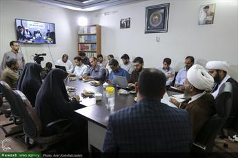 تصاویر/ نشست خبری سخنگوی مدیریت حوزه های علمیه
