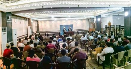 دوره آموزش دروس حوزوی برای دانشجویان و اساتید دانشگاه عراق برگزار می شود