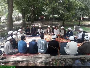 تصاویر/ حضور مسئول مرکز امور صیانتی حوزه در اردوی طرح ارتقایی حوزه کرمانشاه