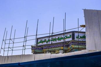صحن تل زینبیه در کربلا ده برابر توسعه می یابد