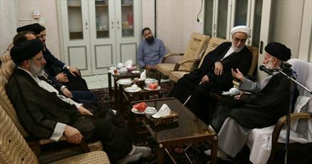 دیدار رئیس دفتر رهبر  انقلاب  با آیت الله العظمی شبیری زنجانی+ عکس