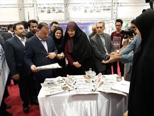 حضور حوزه علمیه خواهران گلستان در نمایشگاه استانی مطبوعات