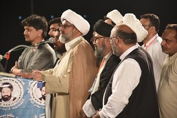 دبیرکل مجلس وحدت مسلمین پاکستان: ما حامی مظلومان جهان هستیم و در برابر ظلم و ستم ایستاده ایم