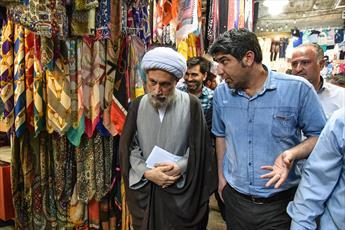 تصاویر/ دیدار صمیمی نماینده ولی فقیه در فارس با کسبه و بازاریان شیراز