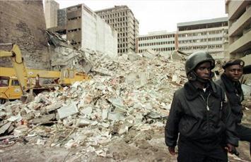 یادبود قربانیان حملات تروریستی سال ۱۹۹۸ در تانزانیا و کنیا برگزار می شود