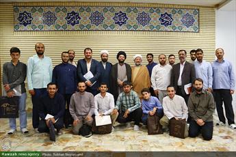 تصاویر/ مراسم اختتامیه دوره خبرنگاری طلاب حوزه علمیه تهران