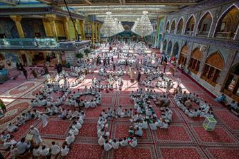 مدرسه قرآنی در حرم حضرت اباالفضل العباس(ع) برگزار می شود+تصاویر