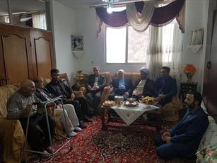 دبیر شورای فرهنگ عمومی کشور با خانواده شهید مؤمنیان دیدار کرد+ عکس