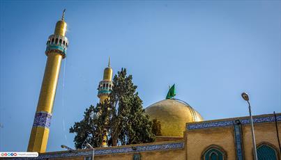 گزارشی از زندگی و تاریخچه حرم حضرت خوله دختر امام حسین (ع) + تصاویر