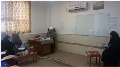 دفاعیه تحقیق پایانی پنج  طلبه مدرسه  خواهران حضرت نرجس(س) ساری