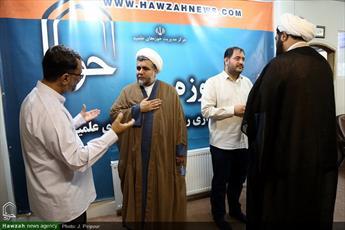 تصاویر/ بازدید امام جمعه ماکو از خبرگزاری حوزه