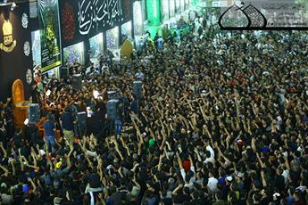 عزاداری شهادت امام جواد(ع) با حضور باسم کربلایی در حرم کاظمین(ع) برگزار شد+ تصاویر