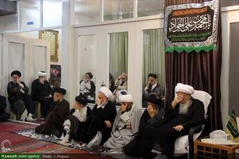 تصاویر/ مراسم عزاداری شهادت امام جواد(ع)در بیوت مراجع و علما