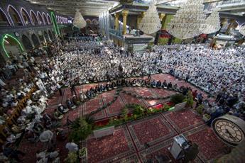 تصاویر/ اختتامیه مدرسه قرآنی در جوار حرم امام حسین (ع) و حضرت عباس (ع)