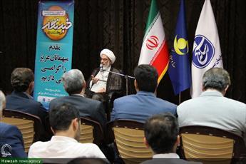 تصاویر/ بزرگداشت روز خبرنگار با حضور نماینده ولی فقیه در استان بوشهر