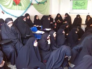در مدرسه  خواهران اهل البیت(ع) ملک شهر مطرح شد: فرهنگ استقبال از تولید داخلی را نداریم