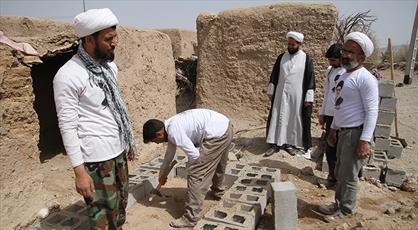 ۱۰۵ گروه جهادی در استان بوشهر فعالیت می کنند