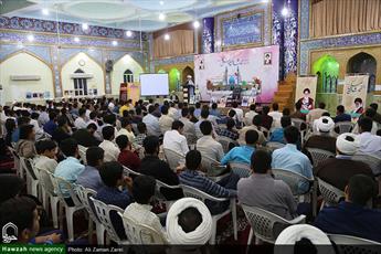 آیین اختتامیه دوره میثاق طلبگی حوزه علمیه خوزستان برگزار شد