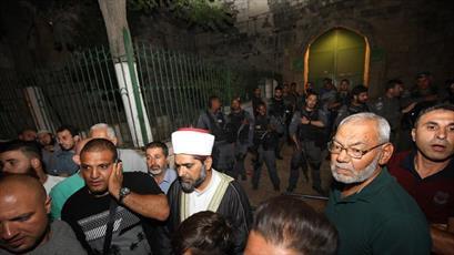پلیس اسرائیل تمامی دروازه های مسجدالاقصی را بست