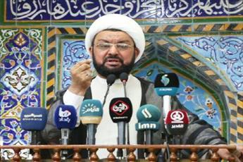 امام جمعه موقت نجف اشرف:   واجب شرعی حکم می کند به تحریمهای آمریکا علیه ایران پایبند نباشیم