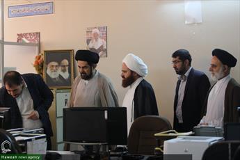 رئیس اتحاد علمای هندوستان از خبرگزاری حوزه بازدید کرد