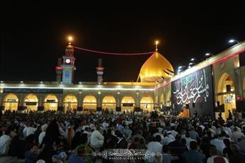 تصاویر/ مراسم عزاداری شهادت امام محمد باقر (ع) در مسجد کوفه