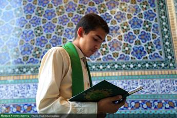 تصاویر/ قرائت دعای عرفه در حرم حضرت معصومه (س)