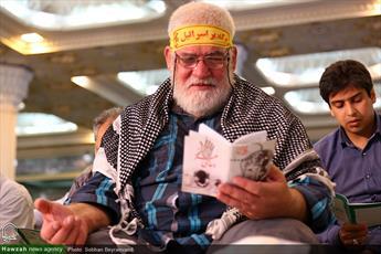 تصاویر/ قرائت دعای عرفه در مصلای تهران