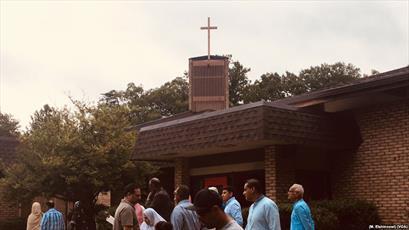 کلیسای ویرجینیا، میزبان نماز عید سعید قربان بود