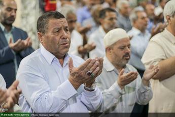 تصاویر/ اقامه نماز عید سعید قربان در مسجد امام حسین(ع) بیرجند