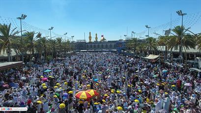 تصاویر/ حضور میلیونی زائرین امام حسین(ع) در زیارت عرفه کربلا