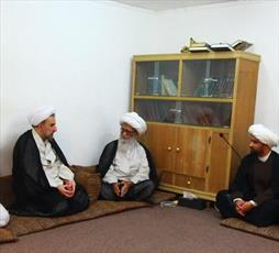 دیدار رئیس دانشگاه مذاهب اسلامی با آیت الله العظمی بشیر نجفی