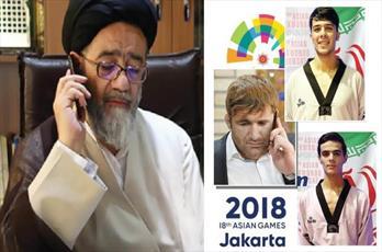 تبریک امام جمعه تبریز به مدال آوران آسیایی