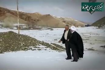 فیلم/ تلاش های یک روحانی برای رفع مشکل کم آبی روستا
