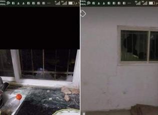 شهرک نشینان صهیونیست به خانه  فلسطینی در نابلس حمله کردند