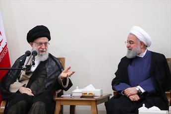 تبریک رئیس جمهور به رهبر معظم انقلاب و مراجع و علما