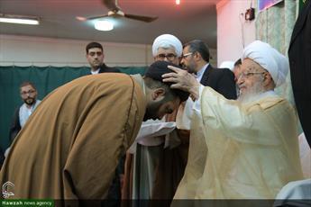 تصاویر/ جشن عید غدیر و عمامه گذاری طلاب در بیوت مراجع و علما-۲