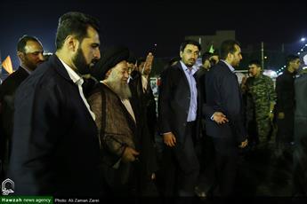 تصاویر/ بازدید آیت الله موسوی جزایری از طرح «ضیافت علوی»