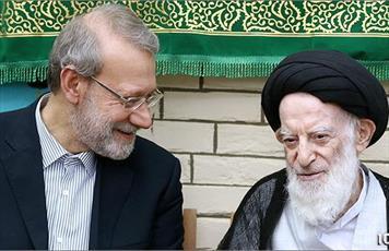 رئیس مجلس با مراجع و علما در قم دیدار کرد